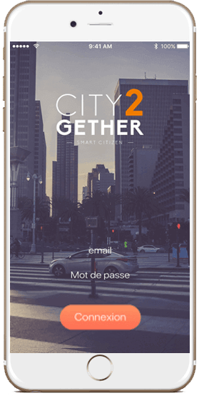 Smartphone City2Gether